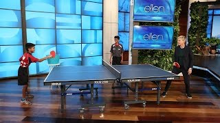 Download Ellen Meets Table Tennis Champion Siblings Video