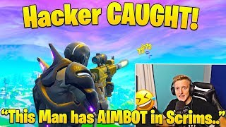 Download Tfue Dies and Spectates Hacker CHEATING in Pro Scrims! Video