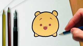 Download Cómo dibujar Winnie the Pooh en la versión Disney Tsum Tsum Video