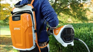 Download Solve landscaping tool challenges with the battery-powered KMA 130 R Professional KombiMotor. Video