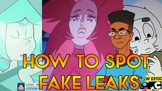 Download FAKE STEVEN UNIVERSE LEAKS AND HOW TO SPOT THEM Video