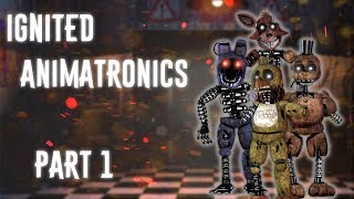 FNAF SpeedEdit]Making Fredbear in FNAF 3 Free Download Video