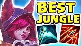 Download THE BEST JUNGLER EVER | PENTAKILL XAYAH JUNGLE SPOTLIGHT (100% CRIT 28 KILLS) - Nightblue3 Video