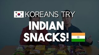 Download KOREANS TRY INDIAN SNACKS? Video