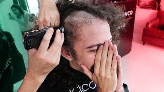 Download ″Si México gana me rapo...″ CUMPLIENDO APUESTA! 😭✂️🇲🇽 Video