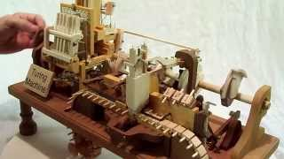 Download Mechanical Turing Machine in Wood Video
