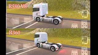 Download Grand Truck Simulator - Scania R360 vs R580 Acceleration Video