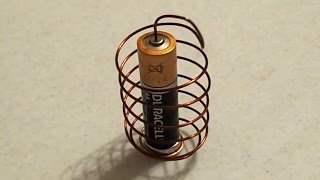 Download DIY: How To Make a Simple Homopolar Motor Video