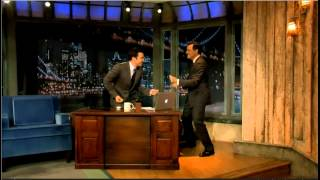 Download Stephen Colbert dancing with Jimmy Fallon Video