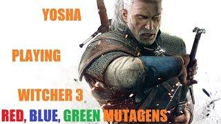 Download Ведьмак 3. Фарм мутагенов. Лучший гайд. Красные мутагены, синие мутагены, зеленые мутагены. Video