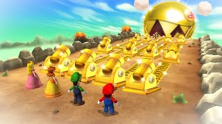 Download Mario Party 9 Boss Rush - Mario Vs Peach Vs Luigi Vs Daisy (Master Cpu) Video