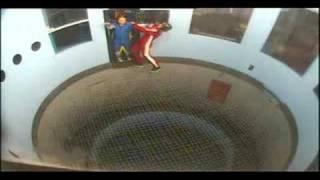 Download How not to do indoor Skydiving Video