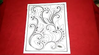 Cara Menggambar Sketsa Motif Batik Sketsa 2 Free Download Video