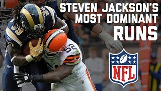 Download Steven Jackson's Most Dominant Runs | NFL Highlights Video
