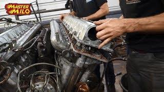 Download v55 tank engine rebuild & first start attempt! Video