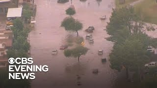 Download Remnants of Hurricane Rosa cause flooding in Phoenix Video