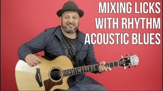 Download Acoustic Blues - Mixing Licks With Your Rhythm Video