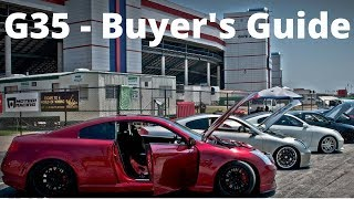 Download G35 Buyer's Guide - Common Issues and Problems Video
