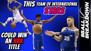 Download This Team Of INTERNATIONAL Stars Would WIN An NBA TITLE Video