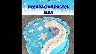 Download Pastel Frozen De Elsa, Decoración fácil - Madelin's Cakes Video