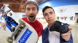 Download ENTIRE BRAILLE TEAM VS ZEXYZEK GAME OF SKATE Video