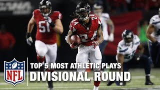 Download Top 5 Athletic Plays from the Divisional Round of the Playoffs   NFL Video