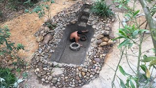 Download Primitive Life:Fish Pond-part3-Waterproofing! Video