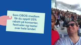 Download OBOS medlemsfordeler - Kultur, spanderer Video