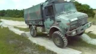 Download Bundeswehr Hammelburg Geländeeinweisung mit Unimog 2to gl Video