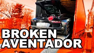 Download When Cars Break - Lamborghini Aventador Video