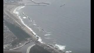 Download Tsunami Hits Japan After Strong 6.9 Earthquake Strikes Near Fukushima Video