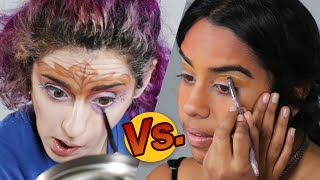 Download Artist Vs. Beauty Lover • Makeup Challenge Video