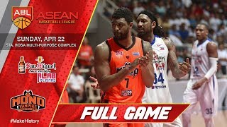 Download San Miguel Alab Pilipinas vs Mono Vampire | FULL GAME | 2017-2018 ASEAN Basketball League Video