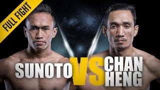 Download ONE: Full Fight | Sunoto vs. Chan Heng | ″The Terminator″ wins via TKO | Jan 2017 Video