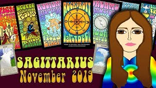 Download Tarot psychic reading SAGITTARIUS NOVEMBER 2019 Your Power time! Tarot psychic reading Video