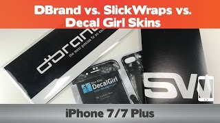 Download The Best Skin? DBrand vs. SlickWraps vs. Decal Girl - iPhone 7 skin comparison Video