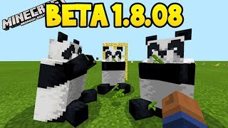 Download Minecraft 1.8 Beta - ALL NEW FEATURES! (Pandas, Scaffolding, Bamboo) Video