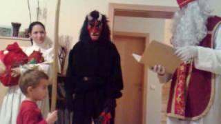 Download Gerald hat Besuch von Nikolaus, Krampus und Engerl Video