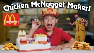 Download McDonald's CHICKEN McNUGGET MAKER!!! Turn Bread Into Chicken! Video