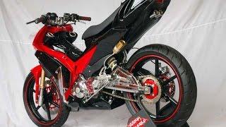 Download Motor Trend Modifikasi | Video Modifikasi Motor Yamaha Jupiter MX Racing Style Terbaru Part 2 Video