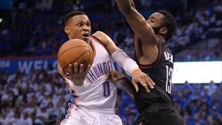 Download Russell Westbrook Plays Smarter! Harden Last Shot! Rockets Thunder Game 3 Video