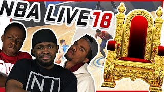 Download WHO WILL TAKE THE 1 ON 1 B-BALL THRONE! - NBA Live 18 Gameplay Video