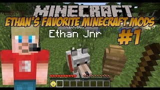 Download Ethan's Favorite Minecraft Mods (#1) | Doggy Talents Mod (KID GAMING) Video