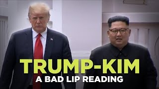 Download ″TRUMP-KIM SUMMIT″ — A Bad Lip Reading Video
