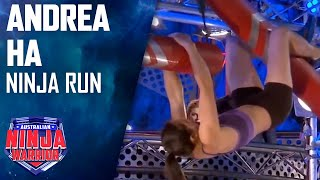 Download Andrea Ha Full Run | Australian Ninja Warrior 2017 Video