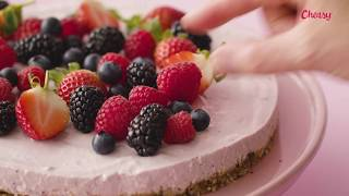 Download Cheesecake med skovbær og skyr || Cheasy® Video