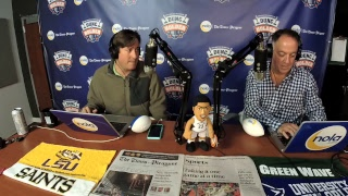 Download Dunc and Holder on Sports 1280 in New Orleans. Dec. 13, 2017. Video