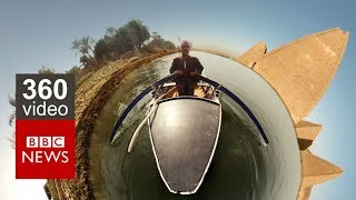 Download Damming the Nile in 360 Video: Episode 2 - BBC News Video