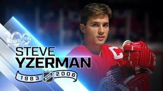 Download Steve Yzerman was Detroit's captain for 19 seasons Video