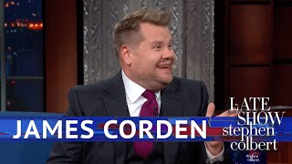 Download James Corden Rates Trump's Royal Performance Video